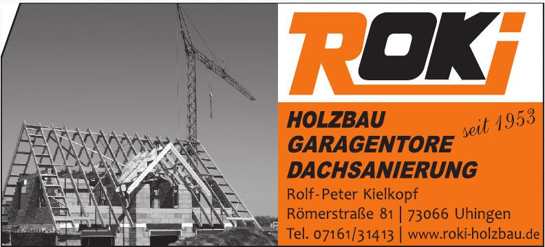 ROKI Dachsanierung - Holzbau - Torbau