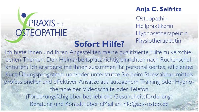 Anja C. Seifritz