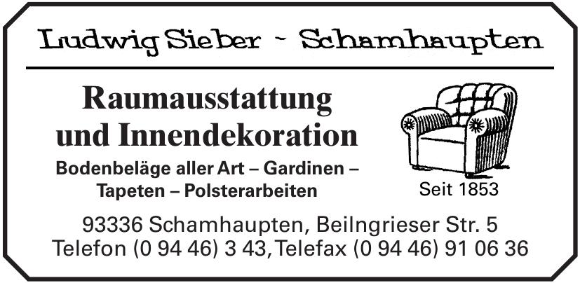 Ludwig Sieber - Schamhaupten