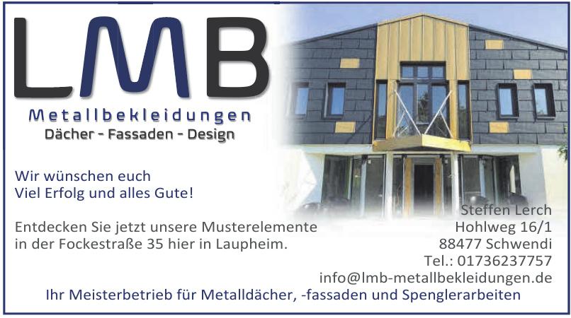 LMB Metallbekleidungen