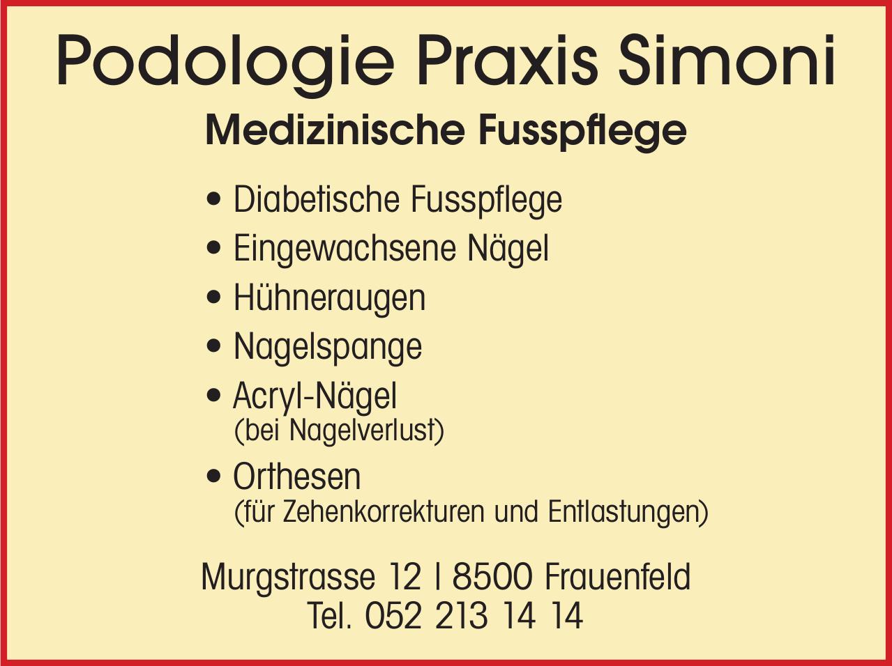 Podologie Praxis Simoni
