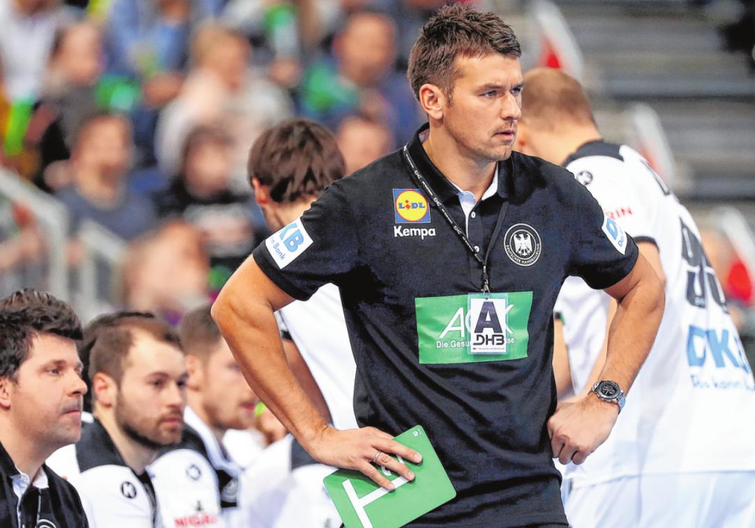 Bundestrainer Christian Prokop will bei seinem zweiten großen Turnier vieles besser machen als noch bei der EM 2018. FOTO: ROSE/BONGARTS/GETTY