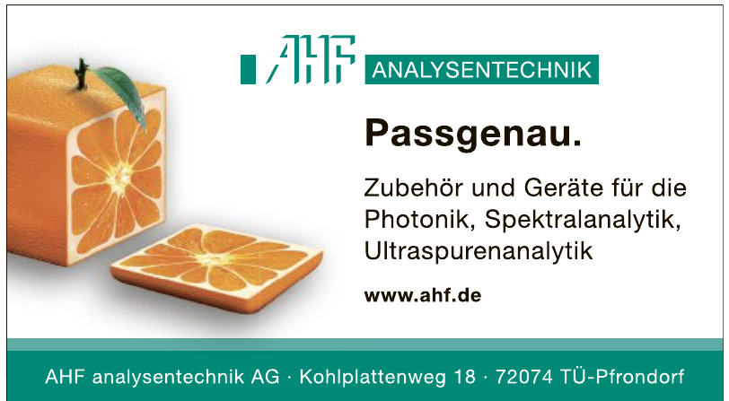 AHF analysentechnik AG