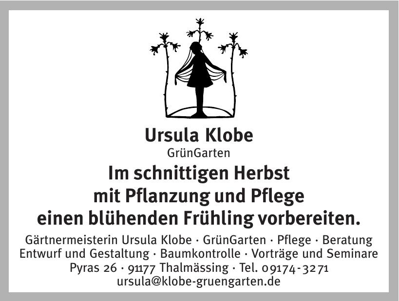 Gärtnermeisterin Ursula Klobe