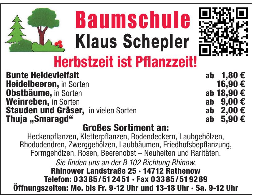 Baumschule Klaus Schepler