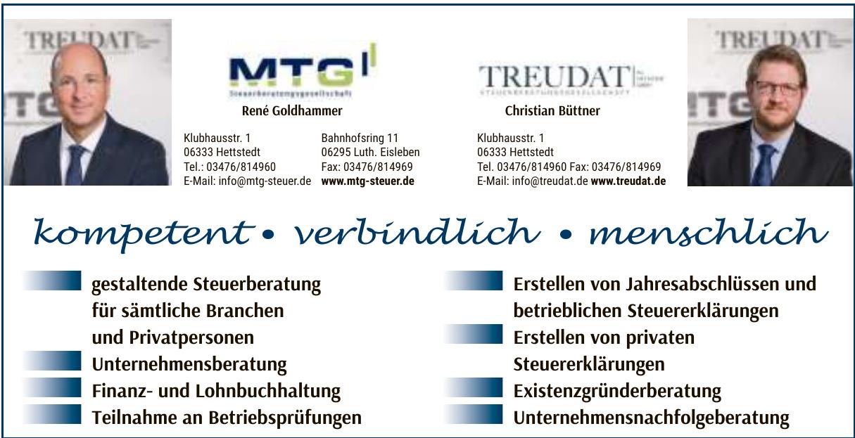 MTG Steuerberatungsgesellschaft mbH