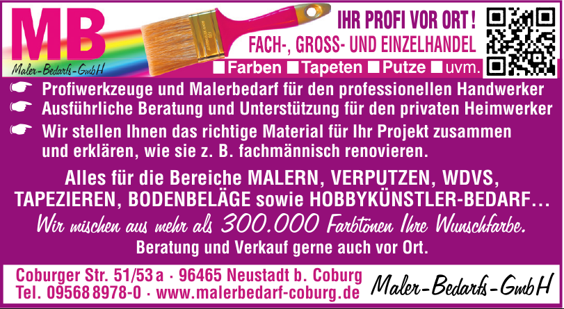 MB Maler-Bedarfs-GmbH