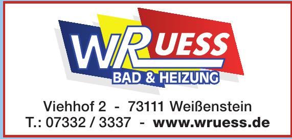 WRuess Bad & Heizung
