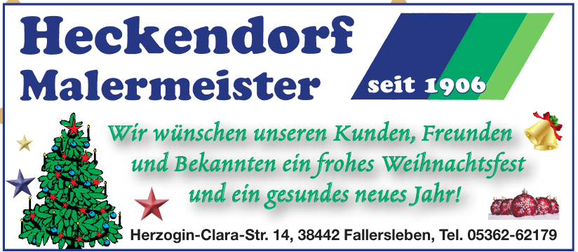 Heckendorf Malermeister