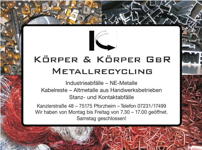 Körper & Körper GbR Metallrecycling