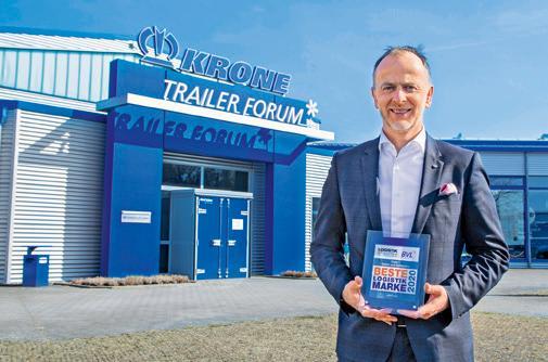 "Krone is ""Best Logistics Brand"" Image 1"