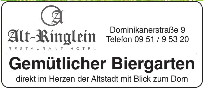 Alt-Ringlein Restaurant Hotel