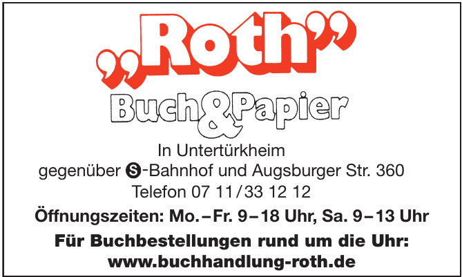 Roth Buch&Papir