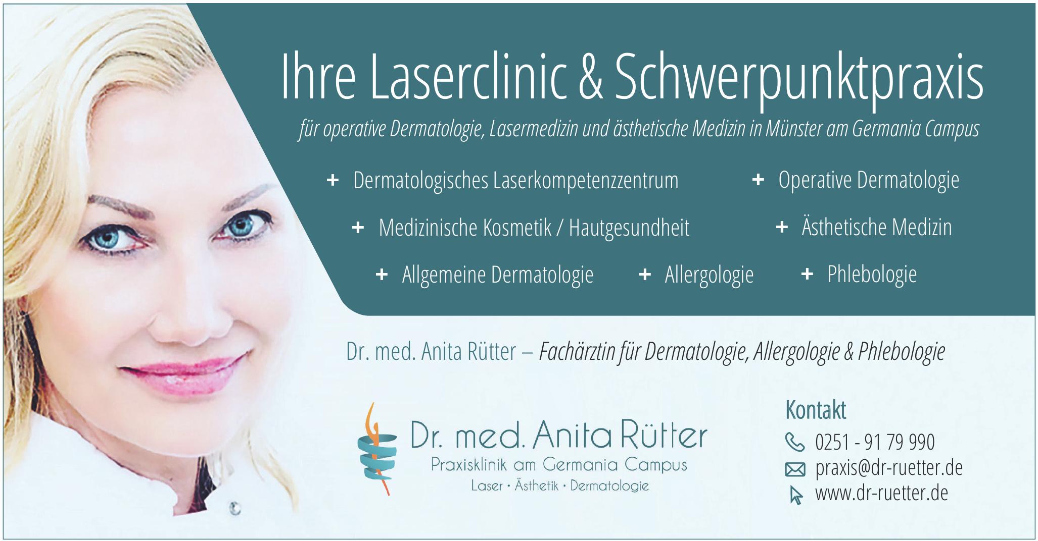 PraxisKlinik  Dr. med. Anita Rütter