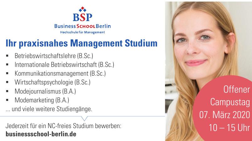 BSP Business School Berlin