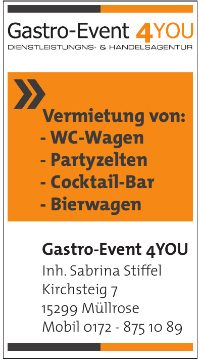Gastro-Event 4YOU