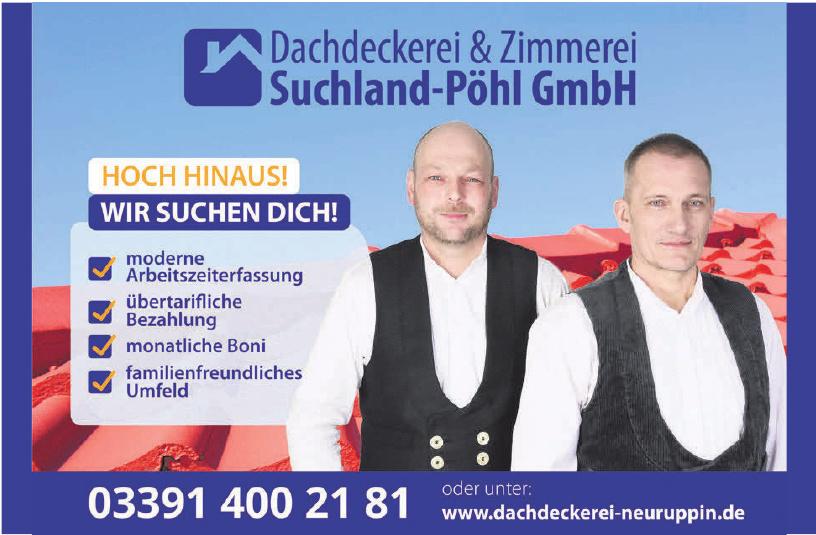 Dachdeckerei & Zimmerei Suchland-Pöhl GmbH
