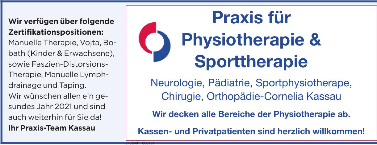 Praxis für Physiotherapie & Sporttherapie