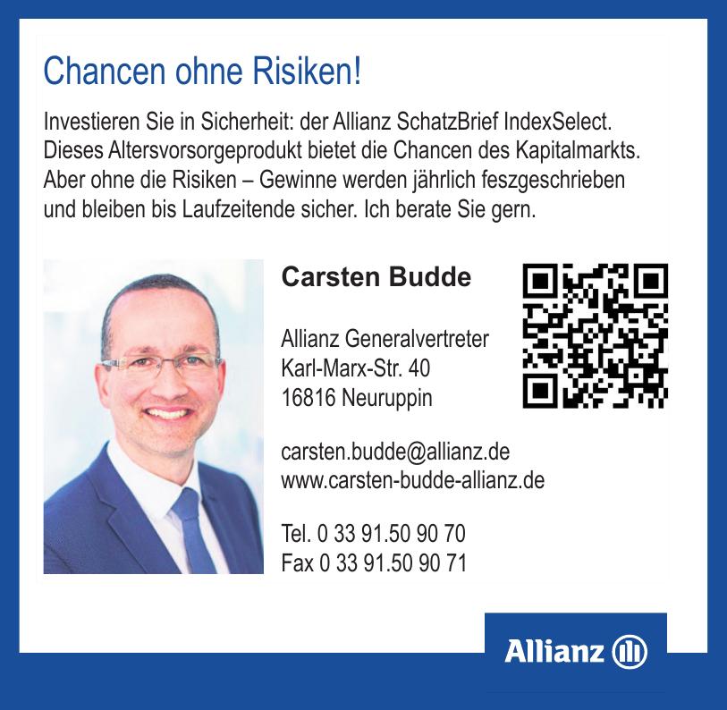 Carsten Budde Allianz Generalvertreter