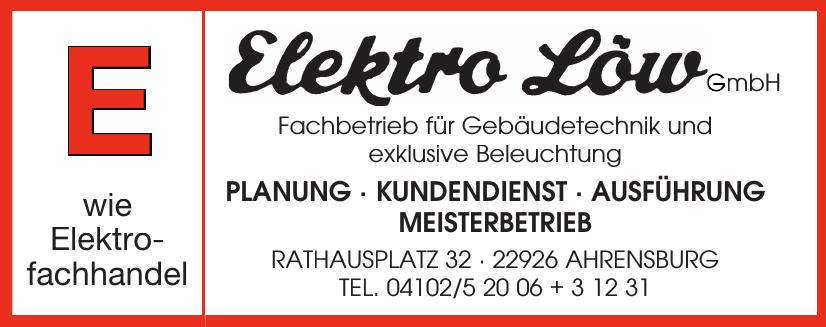 Elektro Löw GmbH Fachbetrieb für Gebäudetechnik