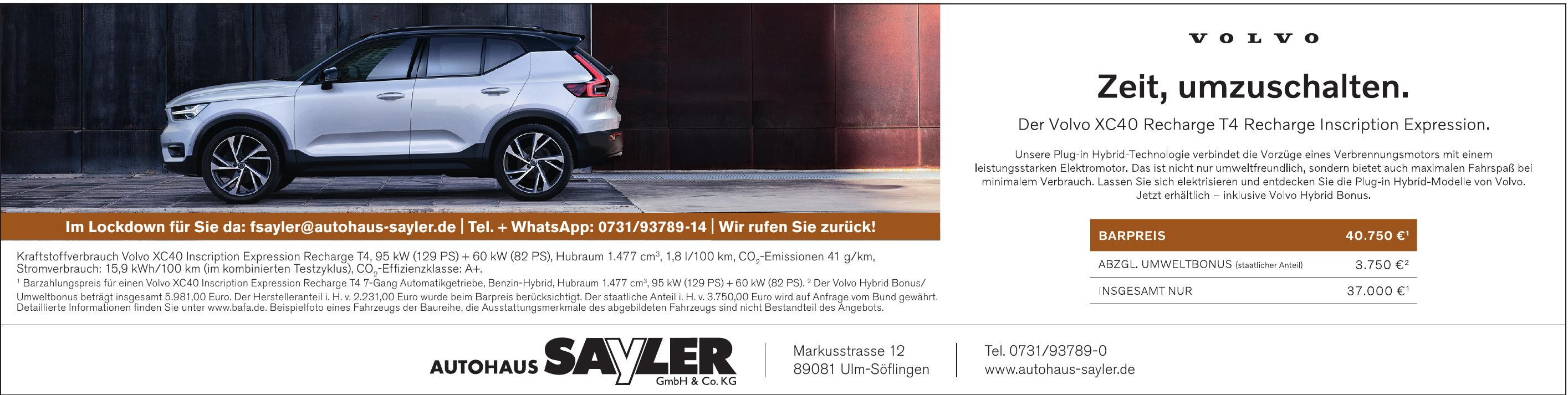 Autohaus Sayeler Gmbh & Co.KG