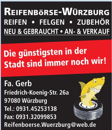 Reifeisen-Würzburg Fa. Gerb