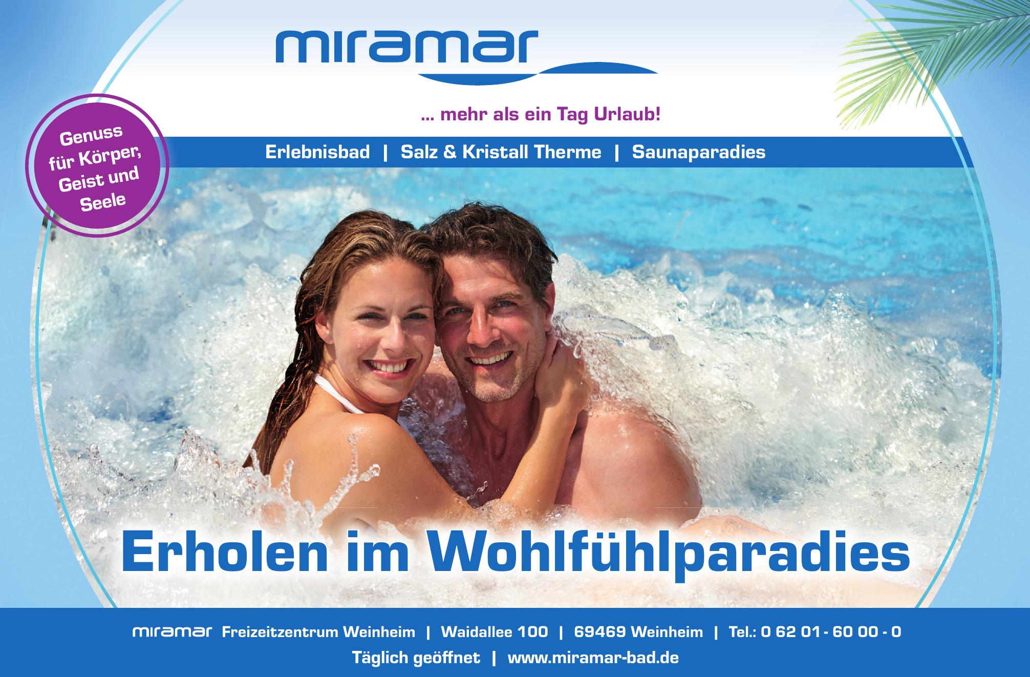 miramar Freizeitzentrum Weinheim