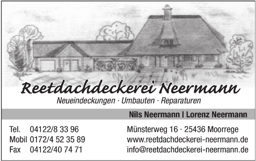 Reetdachdeckerei Neermann