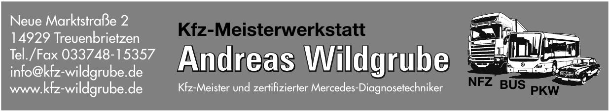 Kfz-Meisterwerkstatt Andreas Wildgrube