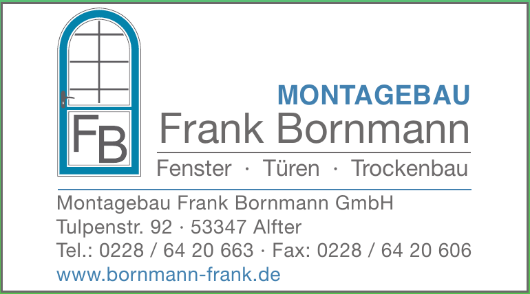 Montagebau Frank Bornmann GmbH