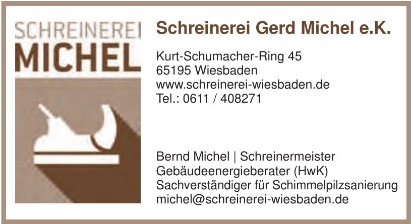 Schreinerei Gerd Michel e.K.