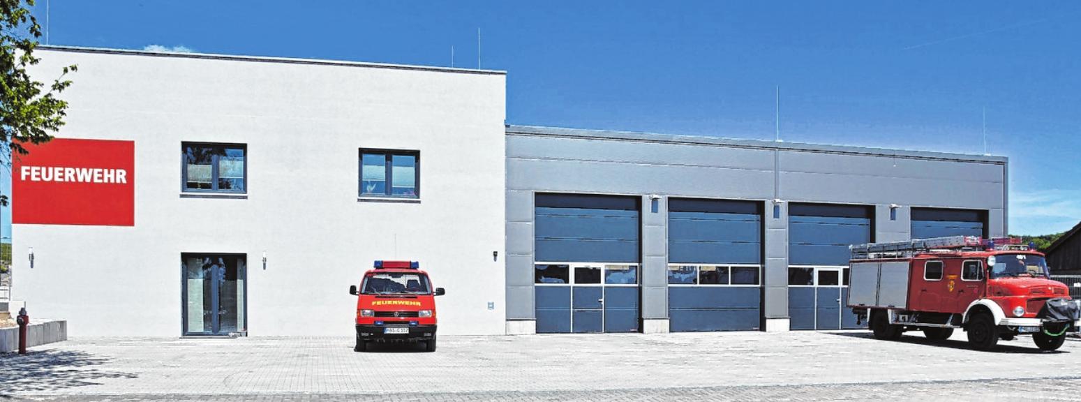 Die Einweihungsfeier für das neue Feuerwehrgerätehaus der Freiwilligen Feuerwehr Obertheres findet von Freitag, 31. Mai, bis Sonntag, 2. Juni, statt. FOTO: ULRIKE LANGER