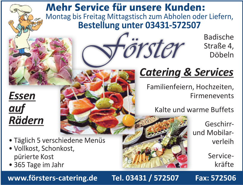 förster Catering & Services