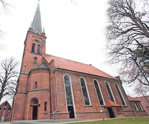 Die Peter-Paul-Kirche in Bad Oldesloe.