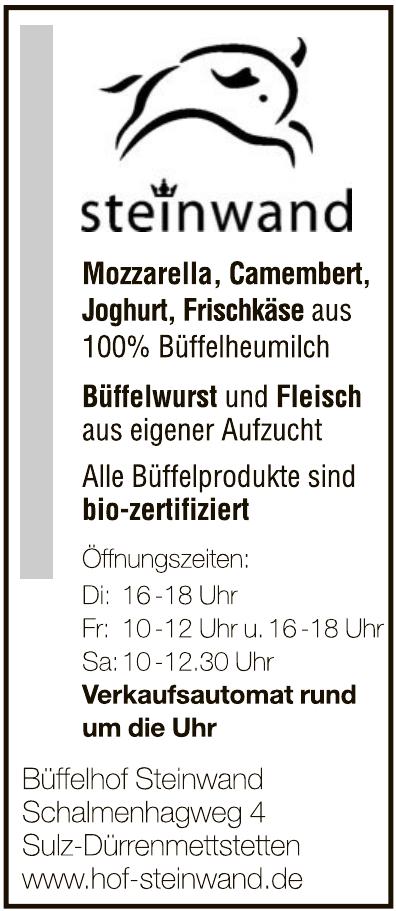 Büffelhof Steinwand