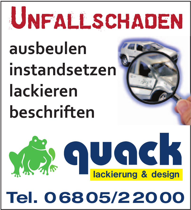 Quack lackierung & design