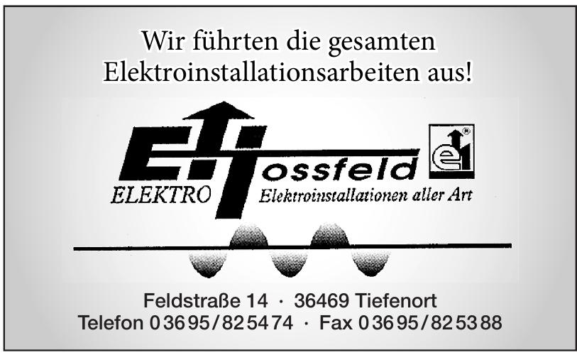Elektro Hossfeld