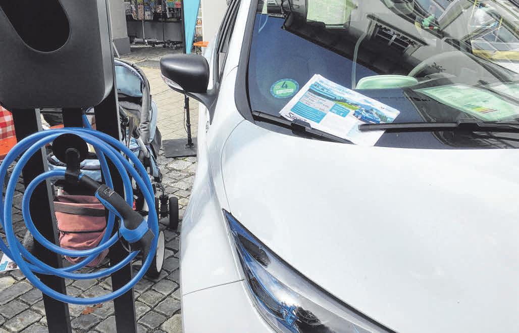 E-Mobilität ist eines der Themen beim Energie- und Klimaschutztag