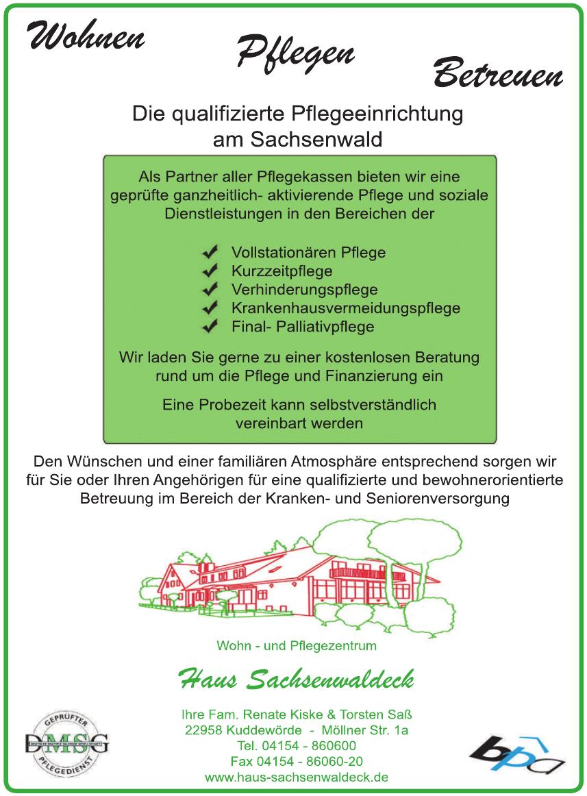 Haus Sachsenwaldeck