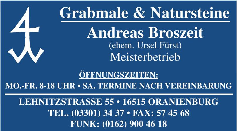 Grabmale & Natursteine Andreas Broszeit