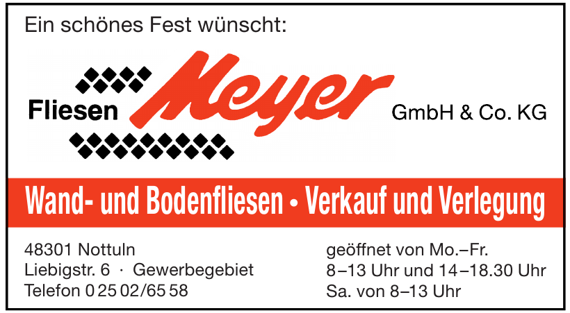 Fliesen Meyer GmbH & Co. KG