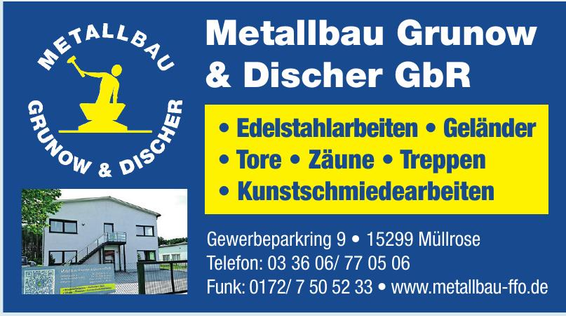Metallbau Grunow & Discher GbR