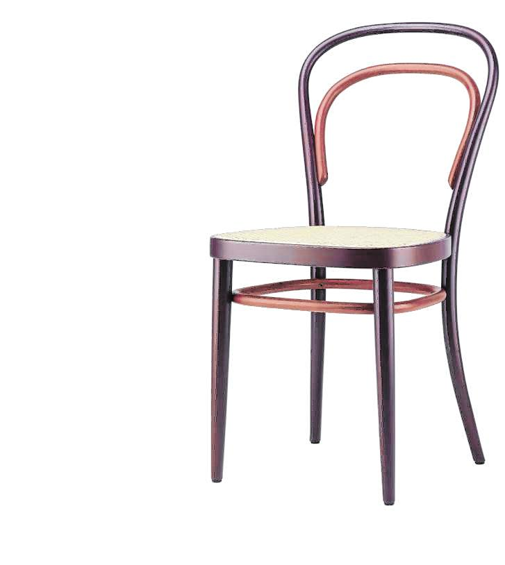 Der Kaffeehausstuhl 214 von Thonet ist dagegen ein absoluter Möbelklassiker. Allein zwischen 1859 und 1930 wurde er 50 Millionen mal verkauft – und wird noch heute produziert. BILDER: Design House Stockholm/dpa-tmn, &tradition/dpa-tmn, Thonet/dpa-tmn