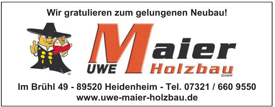 Uwe Maier Holzbau