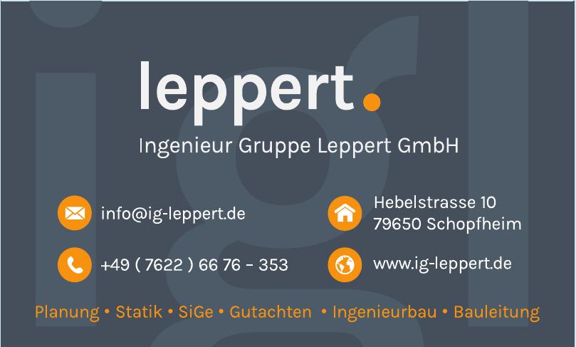Ingenieur Gruppe Leppert GmbH