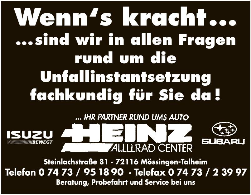 Heinz Allllrad Center