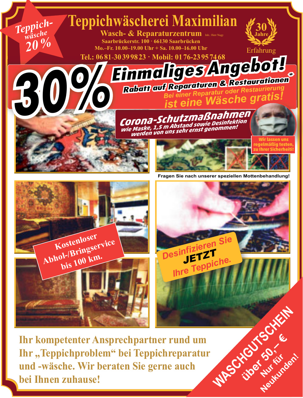 Teppichwäscherei Maximilian