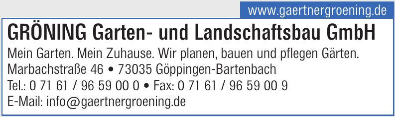 Gröning Garten- und Landschaftsbau GmbH