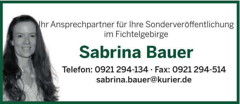 Sabrina Bauer