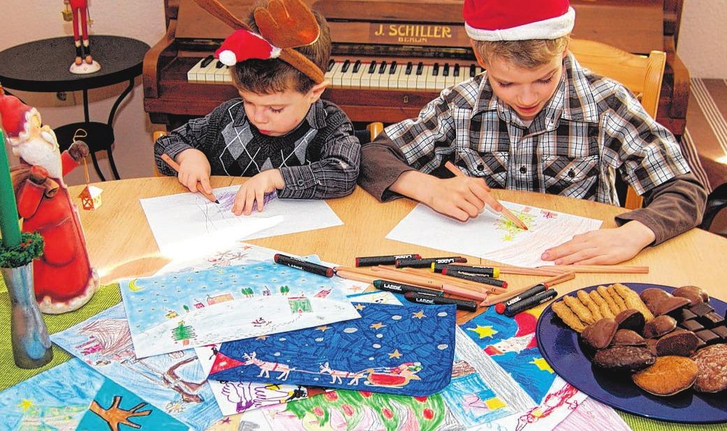 Weihnachten wird dieses Jahr bunt - Malwettbewerb 2018 - Rheinische ...